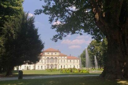 Tesoriera Villa and Park Turin