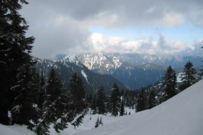 Grouse Mountain Snowshoe Grind Vancouver