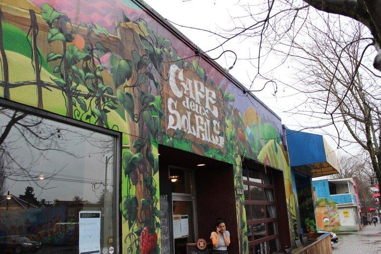 Cafe Deux Soleils Vancouver