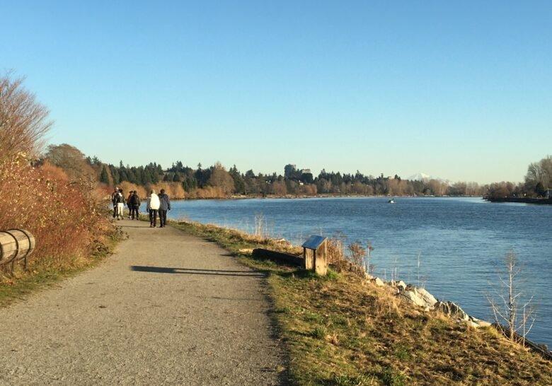 Fraser River Trail Vancouver