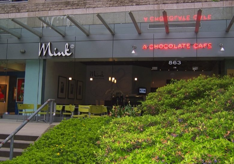 Mink Chocolates Cafe Vancouver