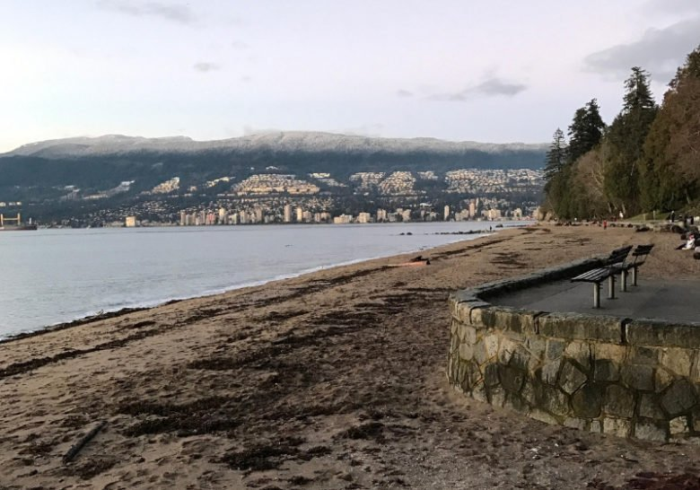 Seawall at Third Beach Vancouver