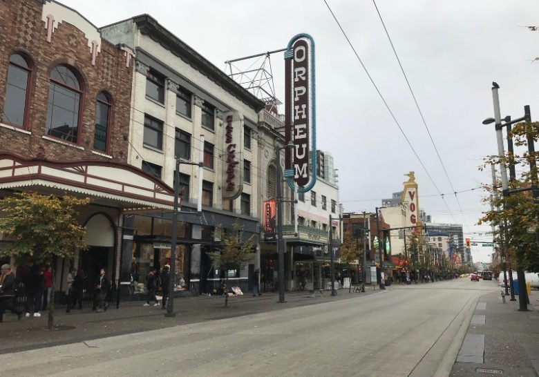 The Orpheum Vancouver