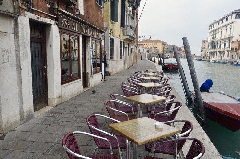 Al Parlamento Venice