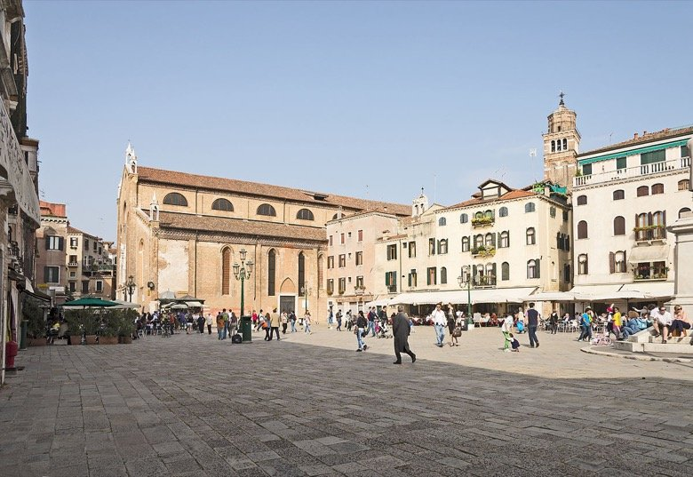 Campo Santo Stefano Venice