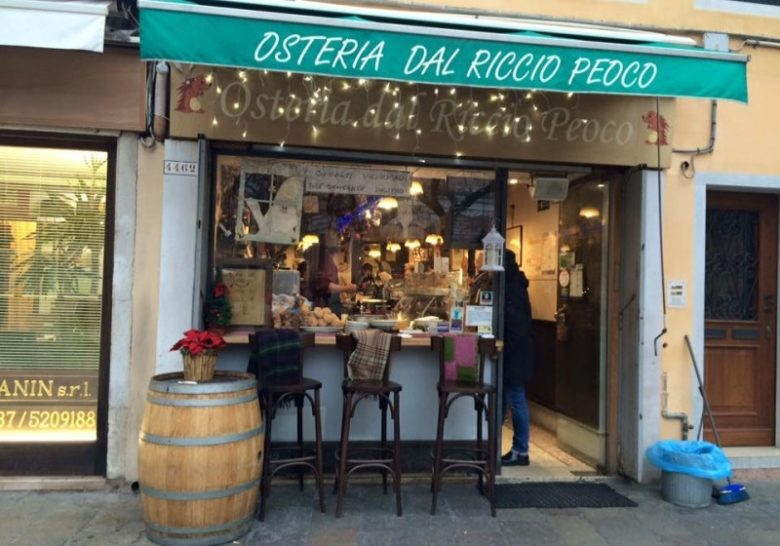 Osteria Riccio Peoco Venice