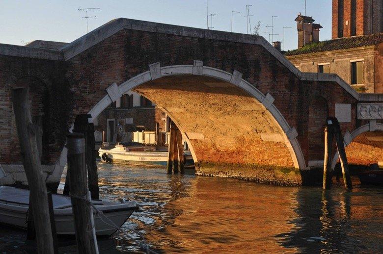 Tre Archi Bridge Venice