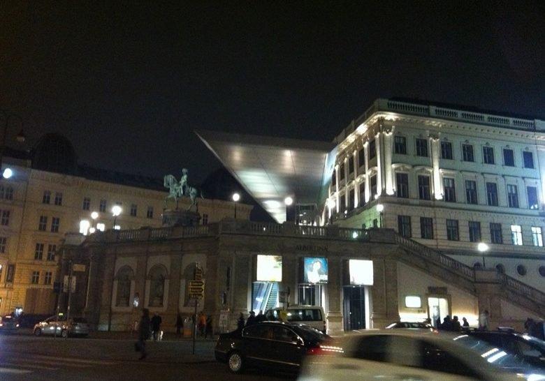 Albertina terrace Vienna