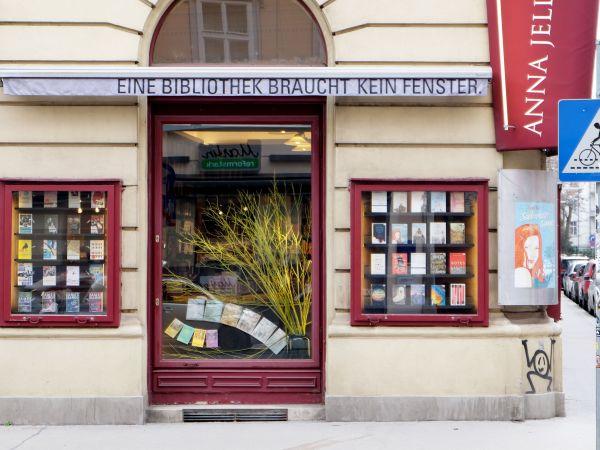 Anna Jeller Buchhandlung Vienna