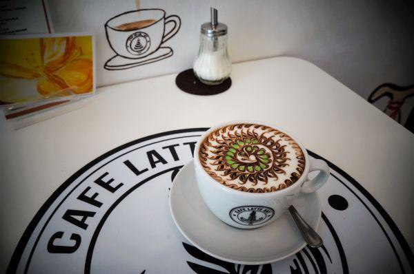 Café Latte Art Vienna