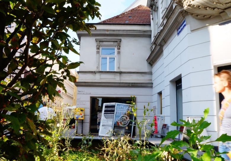 Offener Bücherschrank Vienna