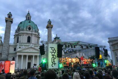 Summer equals concerts Vienna