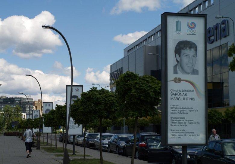 Alley of Olympic Fame Vilnius
