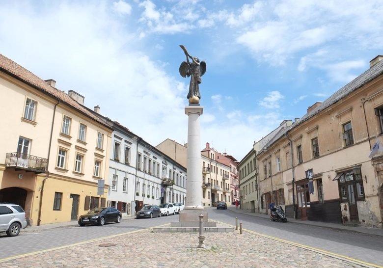 Angel of Užupis Vilnius
