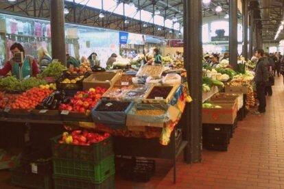Halės market Vilnius