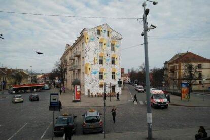 Millo's paper birds Vilnius