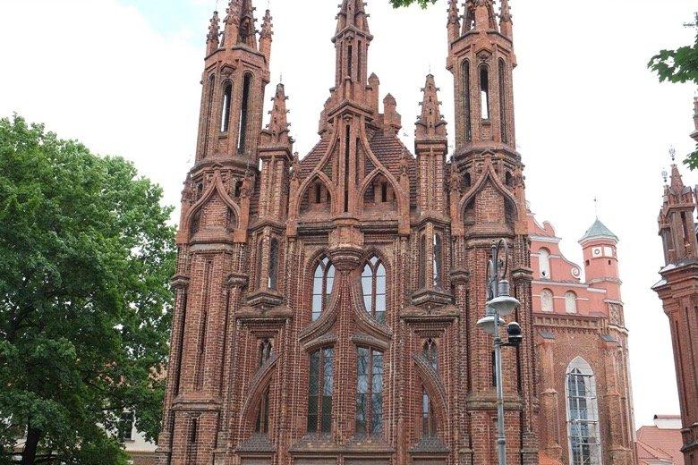 St.Francis & St.Anne's churches Vilnius