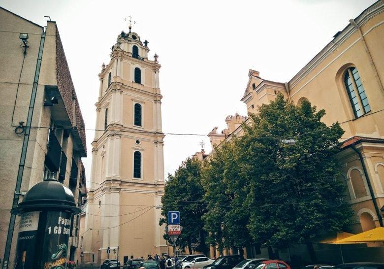 St. Johns Bell Tower Vilnius