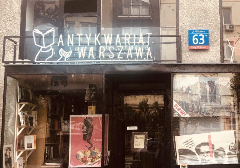 Antykwariat Warszawa Warsaw