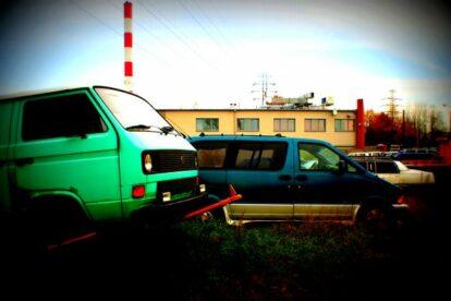 Car Cemetery Warsaw