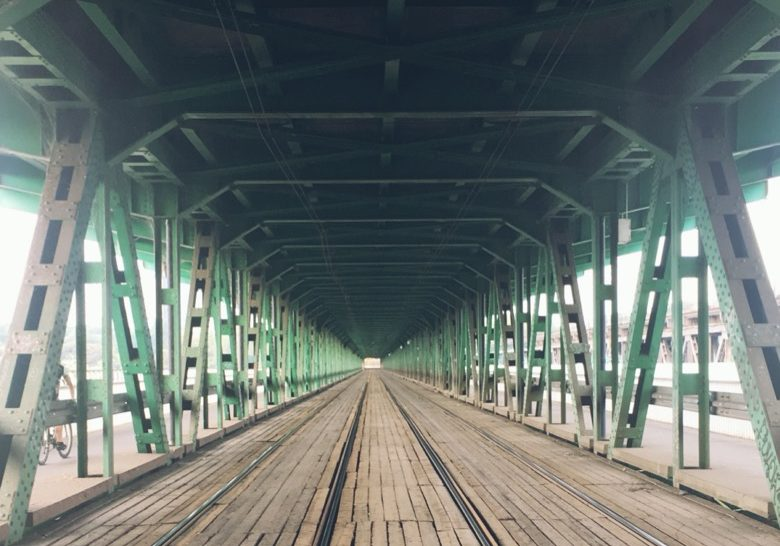 Gdański Bridge Warsaw