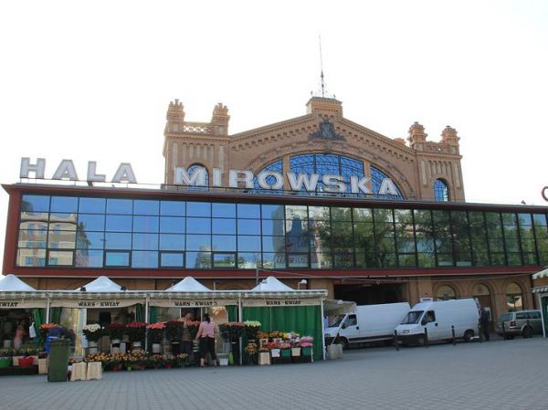 Hala Mirowska Warsaw