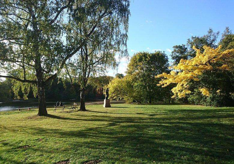 Park Skaryszewski Warsaw