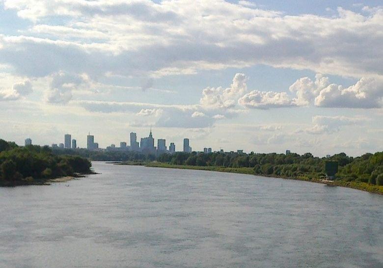 Siekierkowski Bridge Warsaw