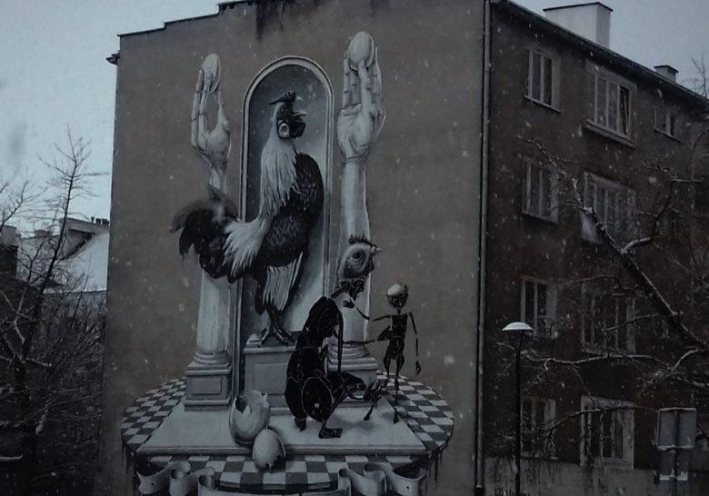 Warsaw Street Art II Warsaw