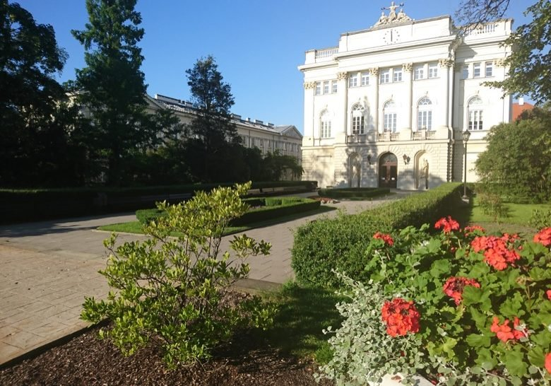 Warsaw University Campus Warsaw