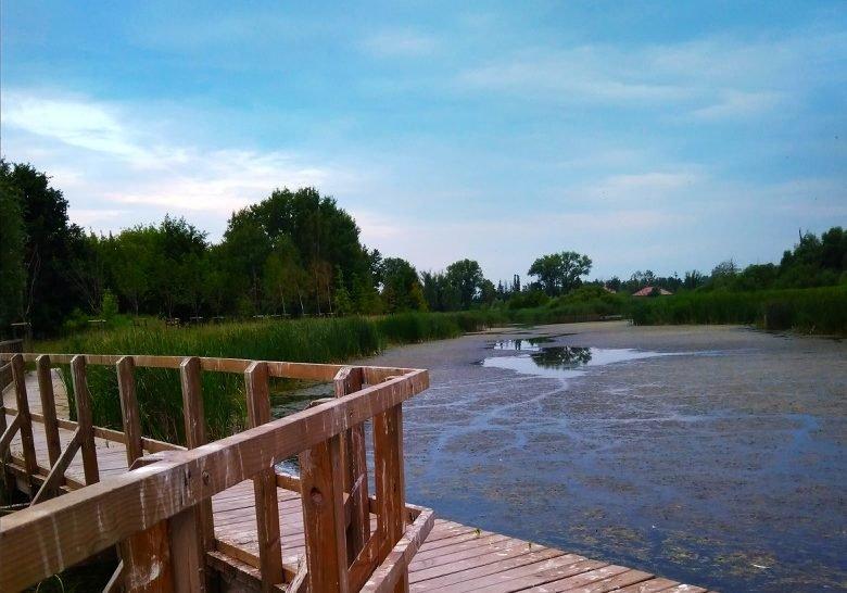 Zgorzała Lake Warsaw