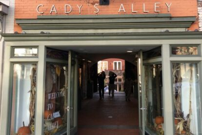 Cady's Alley – Upscale shopping destination