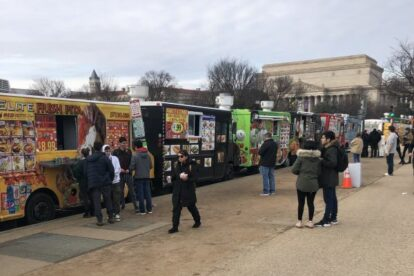 Food Trucks on the Mall Washington DC