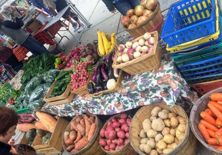 Adams Morgan Farmers Market Washington DC