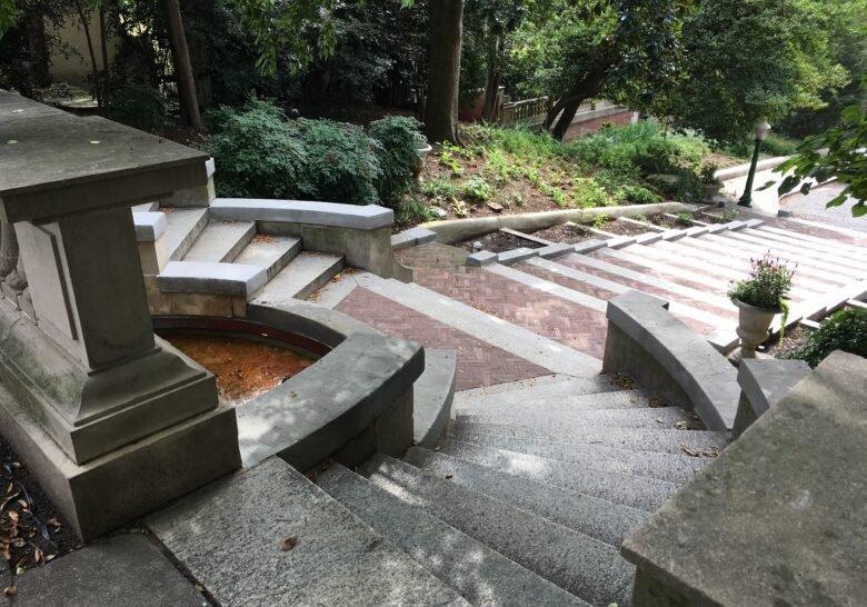 Spanish Steps Washington DC