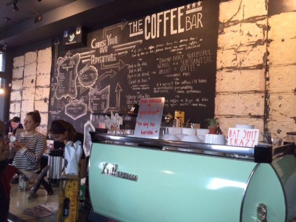 The Coffee Bar Washington DC