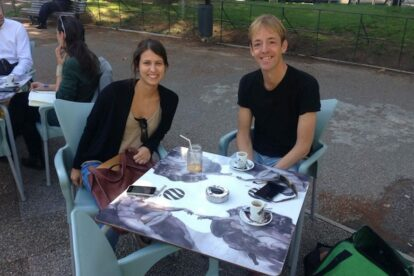 Meeting Lisbon Spotter Susana at Mosca da Fruta