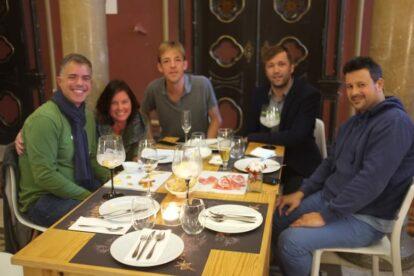 Spotters meeting at Embaixada Lisbon
