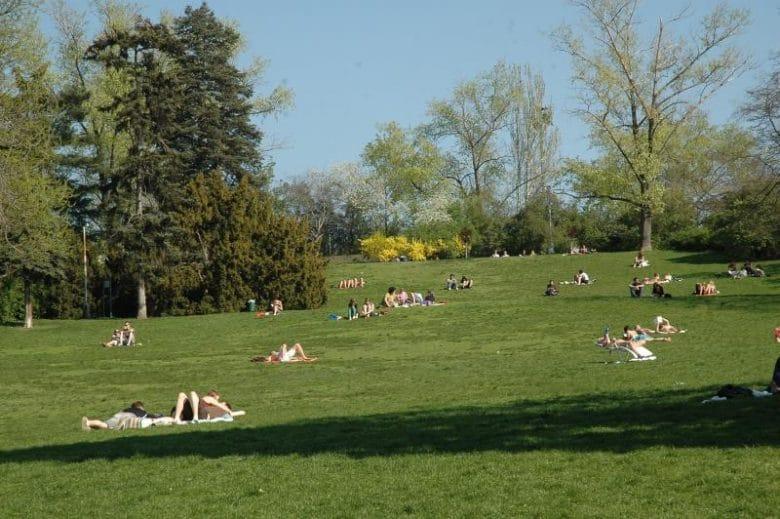 Riegrovy Sady Park Prague