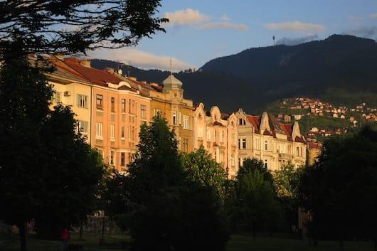 Sarajevo golden hour