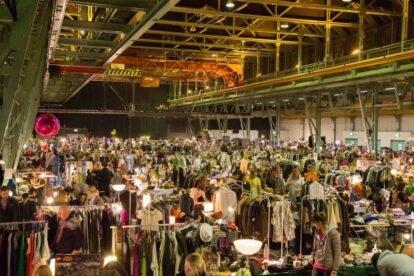Midnightbazar flea market Munich