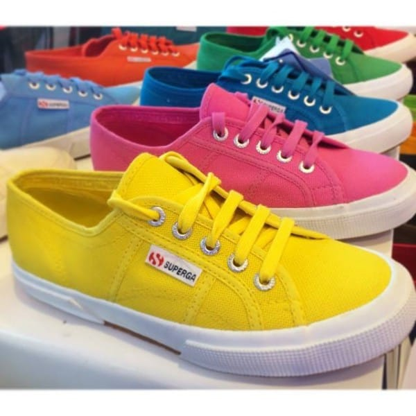 Superga Shoes (By Superga Facebook Page)