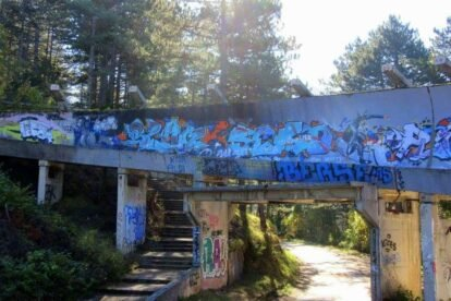 Bobsleigh Track Sarajevo