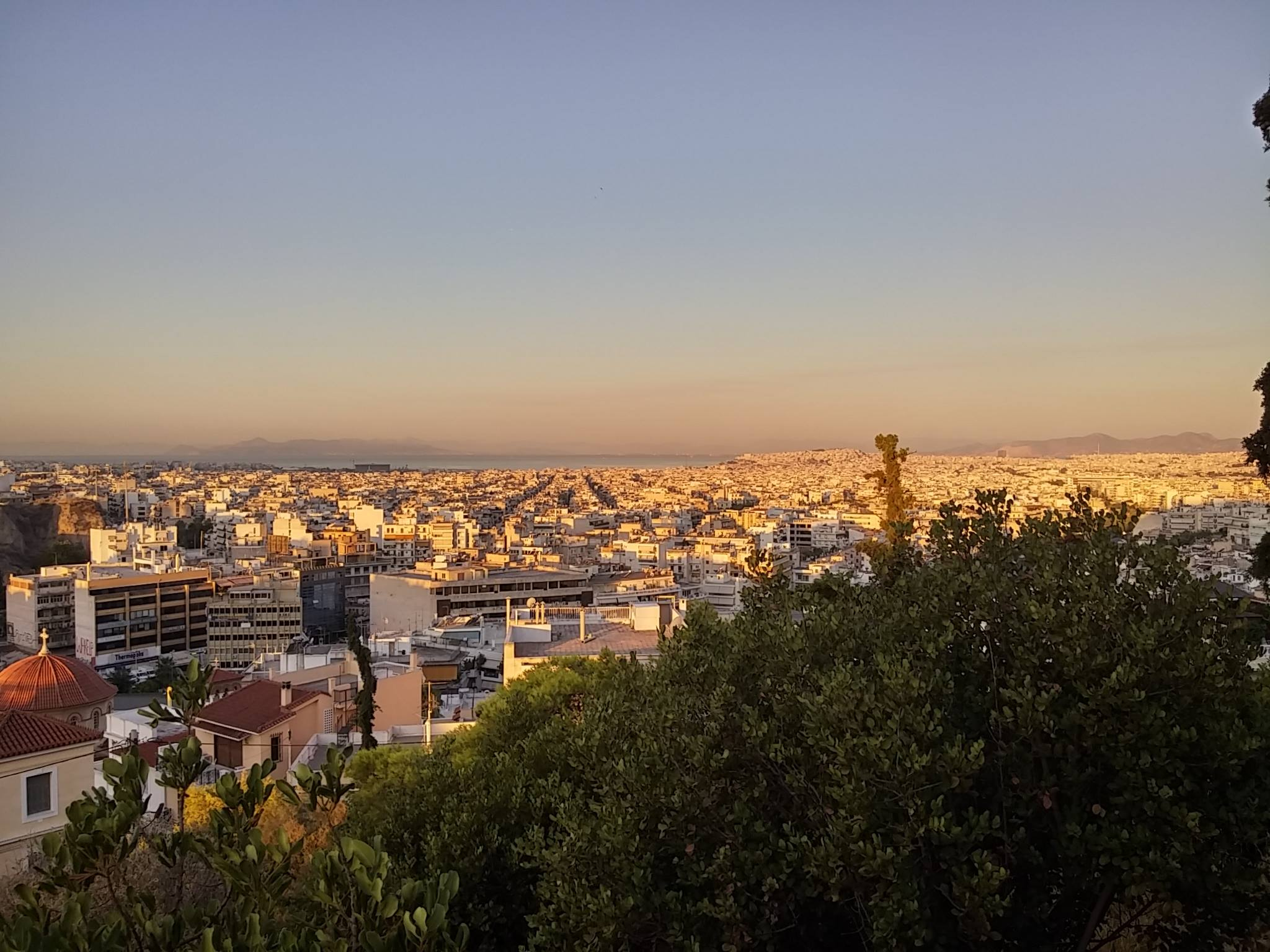 Athens without a filter