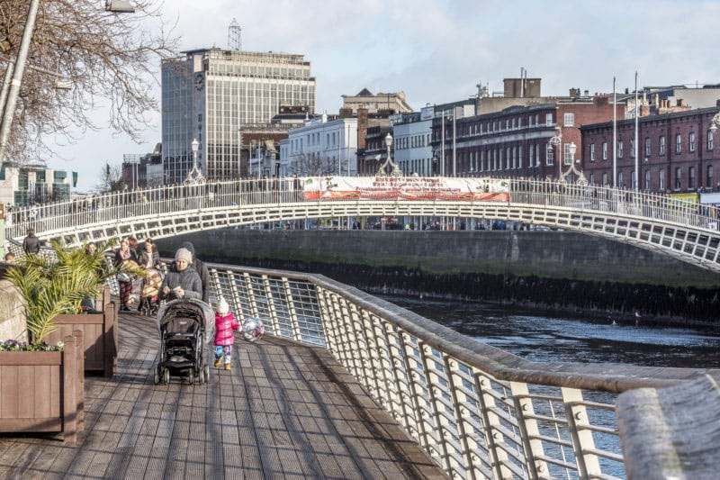 The Liffey Boardwalk (by William Murphy)