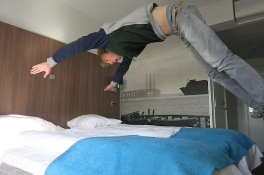 2 - Park Inn Copenhagen bed jump