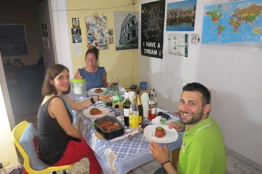 Dinner with Ivan & Daniela