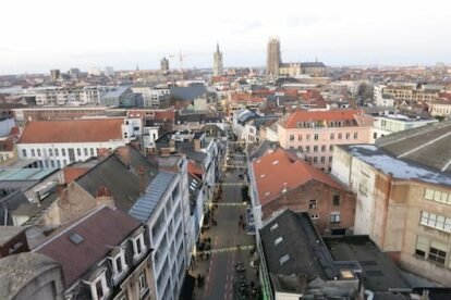 Ghent view - from Vooruit