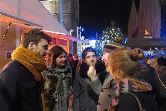 Christmas market Ghent