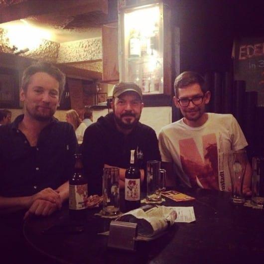 Šarūnas (Vilnius) in Berlin with Spotters Jérémie & Marcel
